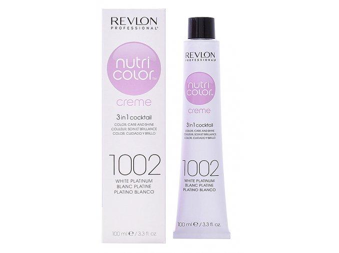 Revlon Professional Nutri Color Creme 200 Violet - barevná maska na vlasy odstín fialová 100ml