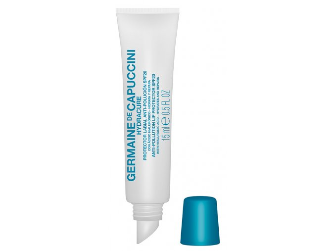 Germaine de Capuccini Hydracure Protector Lip Anti-Pollution SPF20 - ochranný balzám na rty s kyselinou hyaluronovou 15ml