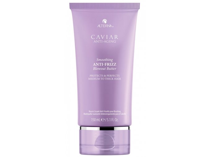 Alterna Caviar Smoothing Anti-Frizz Blowout Butter - uhlazující krém na vlasy s termo ochranou 150ml