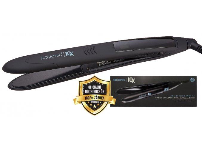 Bio Ionic 10x Pro Styling Iron 25mm - vibrační iontová žehlička na vlasy