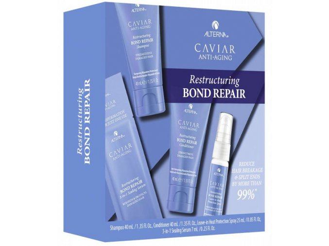 Alterna Caviar Restructuring Bond Repair Trial Kit