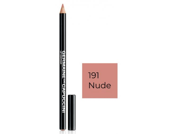 Germaine de Capuccini Lip Contour 191 Nude – konturovací tužka na rty v odstínu Nude 1ks