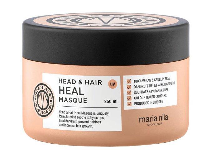 Maria Nila Head & Hair Heal Masque – maska proti lupům a pro podporu růstu vlasů 250ml