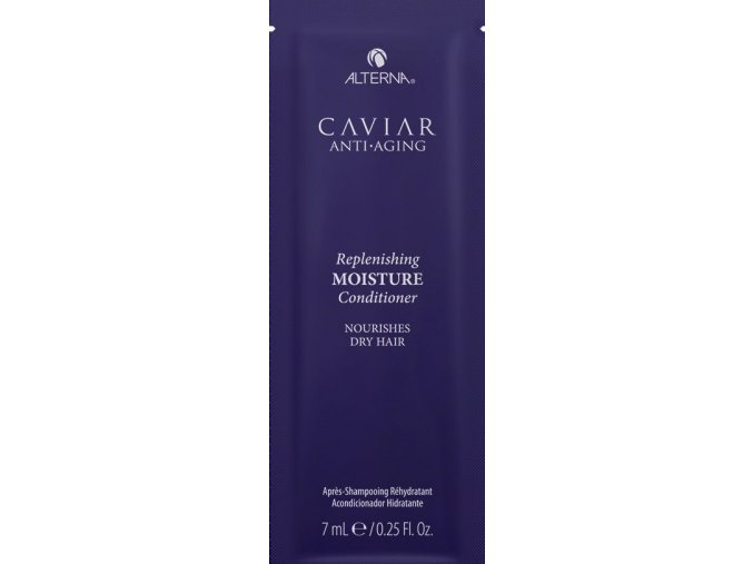 Alterna Caviar Replenishing Moisture - hydratační kondicionér s kaviárem pro suché vlasy VZOREK 7ml