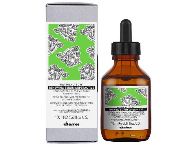 Davines Naturaltech Renewing – sérum proti stárnutí na vlasy i pokožku hlavy 100ml