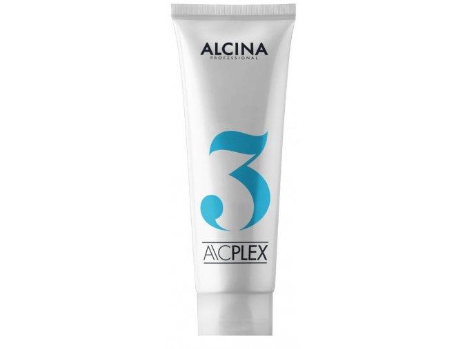 Alcina ACPlex Step 3 – obnovující kúra na barvené, zesvětlené a poškozené vlasy 125ml