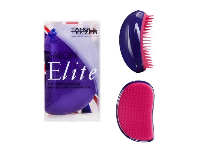 Tangle Teezer Salon Elite Purple Crush - kartáč na vlasy