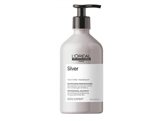 Loréal Expert Silver – platinový šampon pro blond a šedivé vlasy