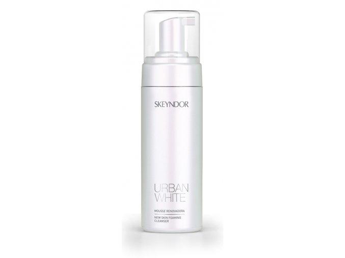 Skeyndor Urban White New Skin Foaming Cleanser – rozjasňující čisticí pěna pro všechny typy pleti 150ml