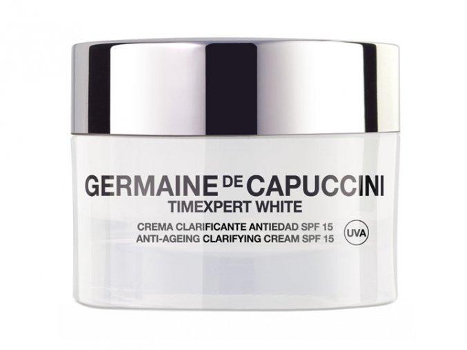 Germaine de Capuccini Timexpert White Clarifying Cream SPF15 - rozjasňující pleťový krém s anti-age účinkem