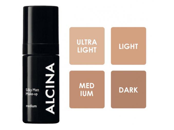 Alcina Silky Matt Make-up  - matující make-up 30ml