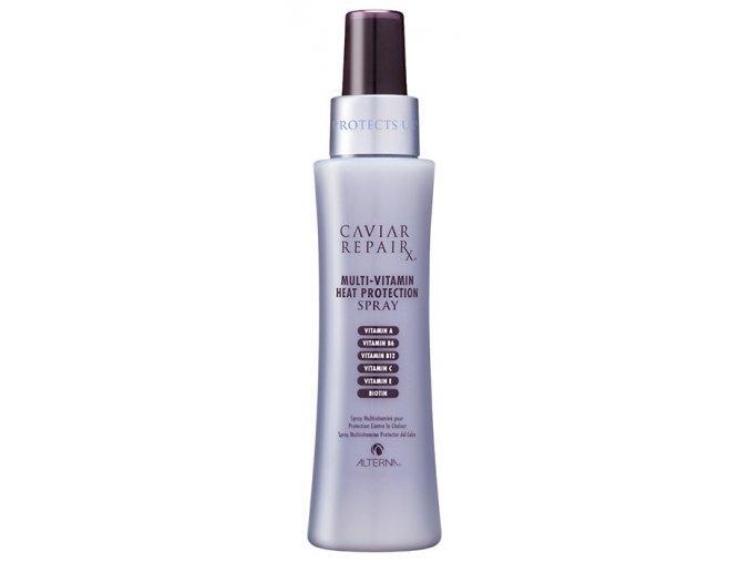Alterna Caviar Repair X Multi-Vitamin Heat Protection Spray – multivitamínový sprej pro ochranu vlasů před teplem 124ml