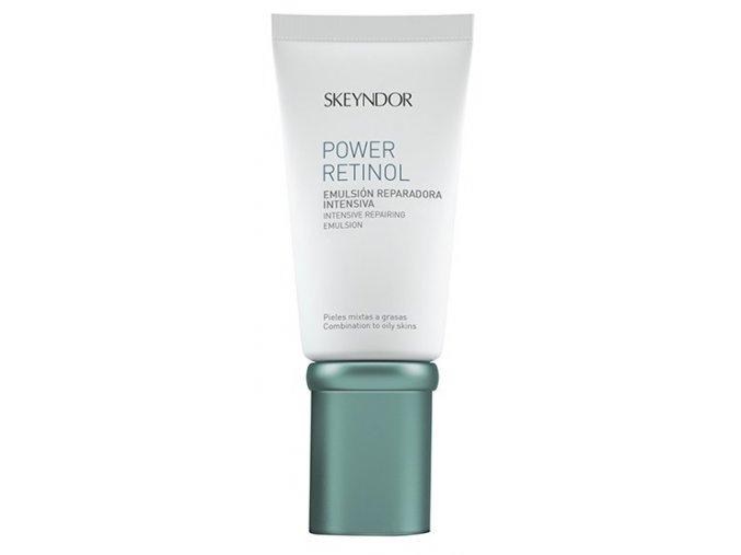 Skeyndor Power Retinol Intensive Repairing Emulsion – intenzivní reparační emulze s retinolem na smíšenou a mastnou pleť 50ml