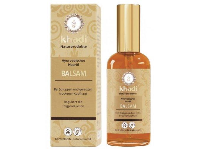 Khadi - olej na vlasy proti lupům 100ml