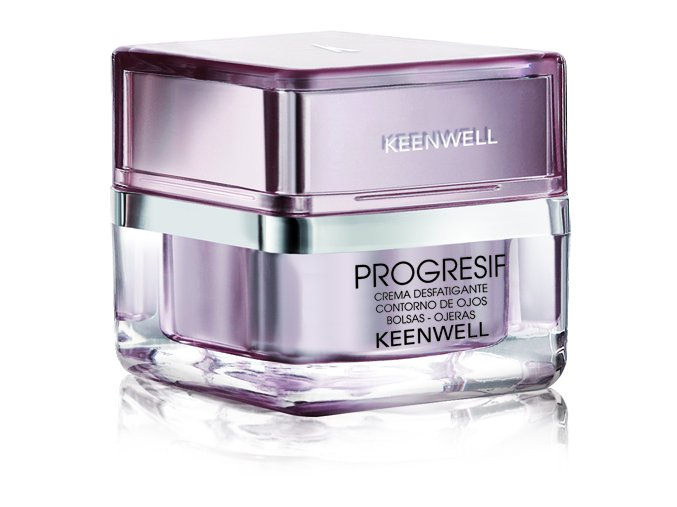 Keenwell Progresif Antifatigue Eye Cream - krém na oční okolí proti váčkům a kruhům 25ml