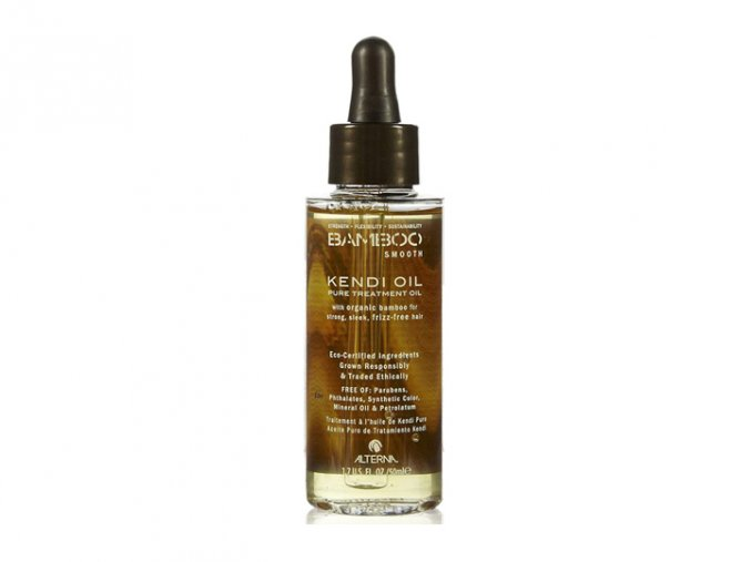 Alterna BAMBOO SMOOTH Kendi Oil Pure Treatment Oil - uhlazující olejíček s leskem 50ml