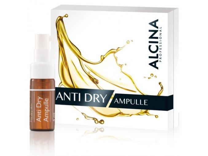 Alcina Anti-Dry Ampulle - koncentrát pro suchou pleť s vráskami 5ml