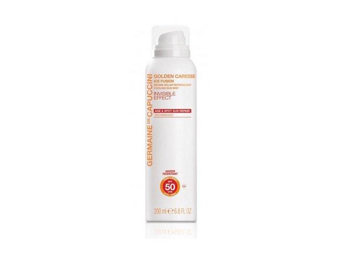Germaine de Capuccini GOLDEN CARESSE Cooling Sun Mist SPF50 - ochranný opalovací hydratační sprej 200ml