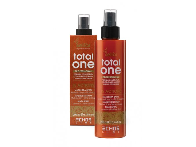 Echosline Seliar Argan Total One Mask Spray - maska na vlasy ve spreji 200ml