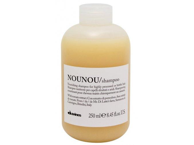Davines Essential Nounou - šampon pro suché a poškozené vlasy