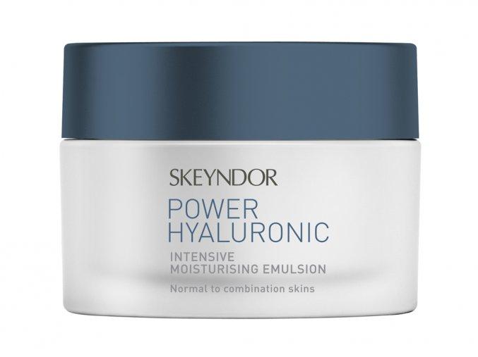 Skeyndor POWER HYALURONIC Intensive Moisturising Emulsion - intenzivní hydratační emulze pro normální až smíšenou pleť 50ml