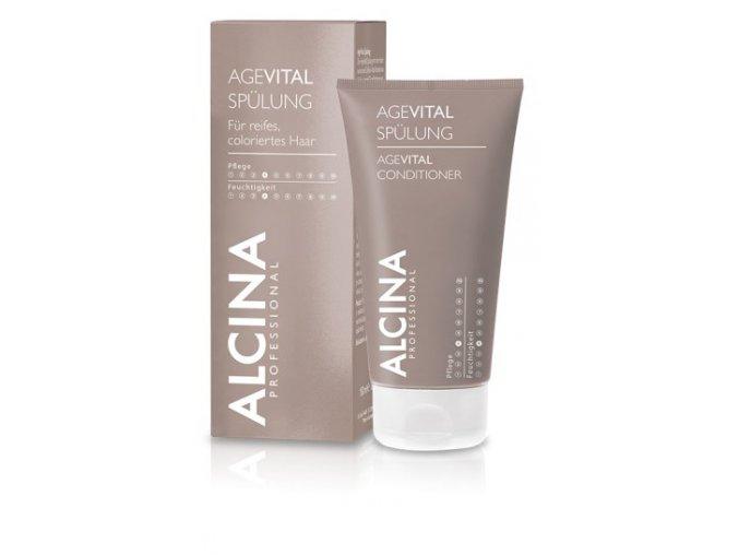 Alcina AGEVITAL Conditioner - pečující balzám pro zralé a křehké vlasy 150ml