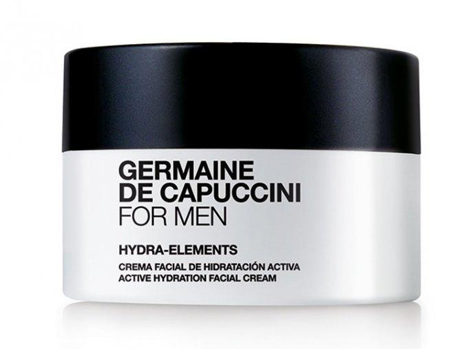 Germaine de Capuccini FOR MEN Hydra-Elements – pánský pleťový krém pro aktivní hydrataci 50ml