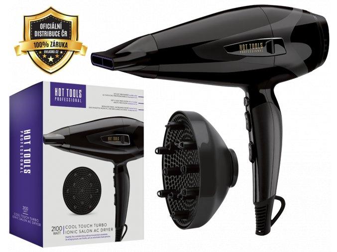 Hot Tools Cool Touch Turbo Ionic 2100W - profesionální ionizační fén na vlasy