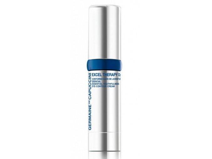 Germaine de Capuccini EXCEL THERAPY O2 Essential Youthfulness Eye Contour Cream - omlazující krém proti vráskám na oční okolí 15ml