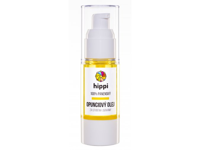 Hippi Organic - 100% panenský opunciový olej lisovaný za studena 30ml