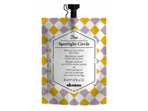 Davines The Circle Chronicles Spotlight - maska na vlasy pro extra lesk 50ml