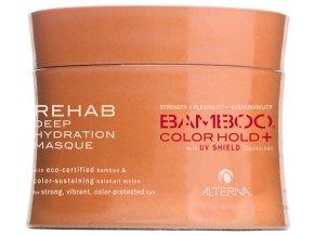 Alterna Bamboo COLOR HOLD+ Rehab Deep Hydration Masque – intenzivní regenerační maska pro barvené a narušené vlasy