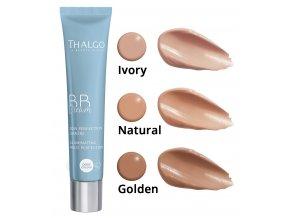 Thalgo Illuminating Multi-Perfection BB Cream SPF15 lehký tónovací krém pro rozjasnění pleti