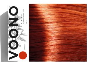 Voono Henna Orange - rostlinná barva na vlasy pro zrzavý odstín 100g