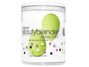 Beautyblender Micro Mini Green - mini houbička na make-up zelená 2ks