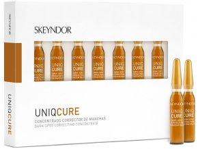 Skeyndor Uniqcure - pleťový koncentrát proti tmavým skvrnám 7x2ml
