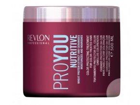Revlon Professional Proyou Nutritive - hydratační a výživná maska pro suché a dehydratované vlasy 500ml