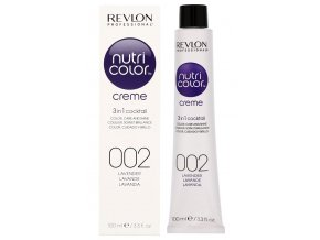 Revlon Professional Nutri Color Creme 002 Lavender - barevná maska na vlasy odstín levandulová 100mlRevlon Professional Nutri Color Creme 002 Lavender - barevná maska na vlasy odstín levandulová 100ml