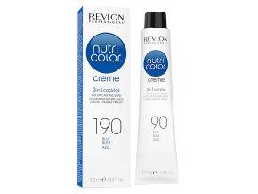 Revlon Professional Nutri Color Creme 190 Blue - barevná maska na vlasy odstín modrá 100ml