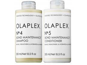 Olaplex 4-5 Set - regenerační šampon No.4 250ml + regenerační kondicionér No.5 250ml
