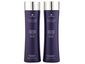Alterna Caviar Replenishing Moisture Duo - hydratační šampon na suché vlasy 250ml + hydratační kondicionér na suché vlasy 250ml