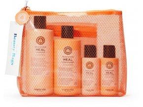Maria Nila Head & Hair Heal Set - šampon proti lupům a padání vlasů 350ml + kondicionér proti lupům a padání vlasů 300ml + zázvorové tekuté mýdlo 300ml