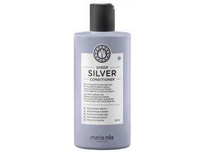 Maria Nila Sheer Silver Conditioner – hydratační kondicionér na blond, šedé a stříbrné vlasy 300ml
