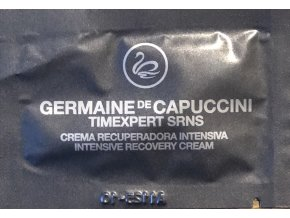 Germaine de Capuccini Timexpert Srns Intensive Recovery Cream - pleťový krém pro intenzivní obnovu pleti VZOREK 3ml