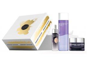 Germaine de Capuccini Timexpert Srns Summer Set – obnovující pleťový krém 50ml + krém na oční okolí proti kruhům a váčkům 15ml + Hippi kyselina hyaluronová 30ml