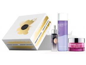 Germaine de Capuccini Timexpert Rides Summer Set – vyhlazující pleťový krém pro normální a smíšenou pleť 50ml + krém na oční okolí proti kruhům a váčkům 15ml + Hippi kyselina hyaluronová 30ml