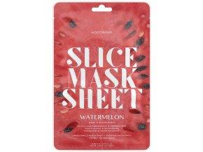 Kocostar Slice Mask Sheet Watermelon – hydratační plátková pleťová maska 20ml