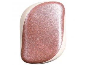 Tangle Teezer Compact Styler Rose Gold Glaze – kompaktní kartáč na vlasy 1ks
