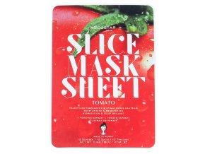 Kocostar Slice Mask Sheet Tomato – hydratační plátková pleťová maska 20ml