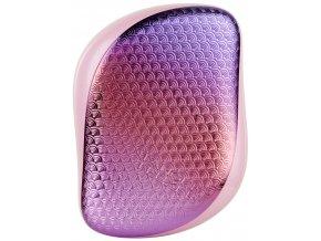 Tangle Teezer Compact Styler Sunset Pink Mermaid – kompaktní kartáč na vlasy 1ks